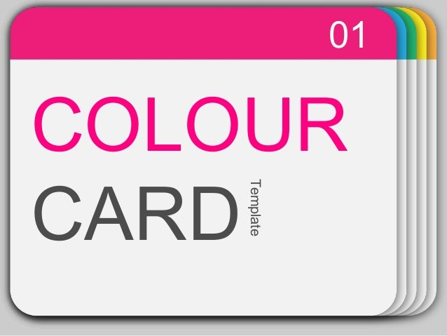 Power Point Templates   Colour Card