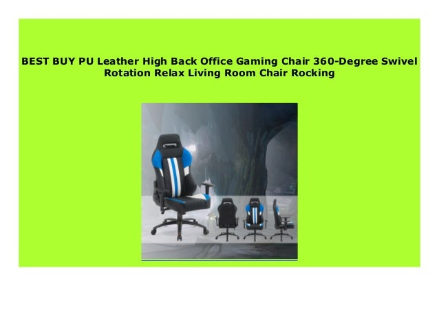 Best Price Pu Leather High Back Office Gaming Chair 360 Degree Swive