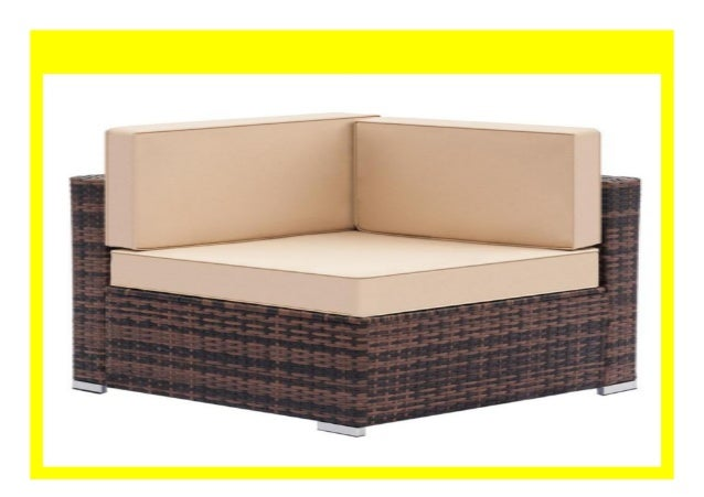 Sell Weaving Rattan Left Corner Sofa Vintage Funiture Bedroom Balcon