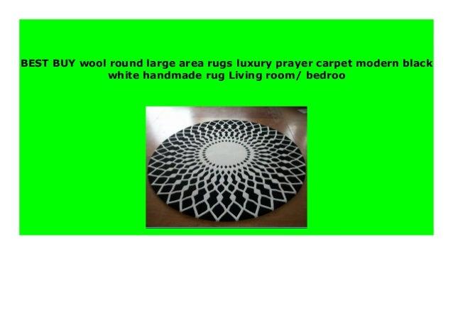 Sell Wool Round Large Area Rugs Luxury Prayer Carpet Modern