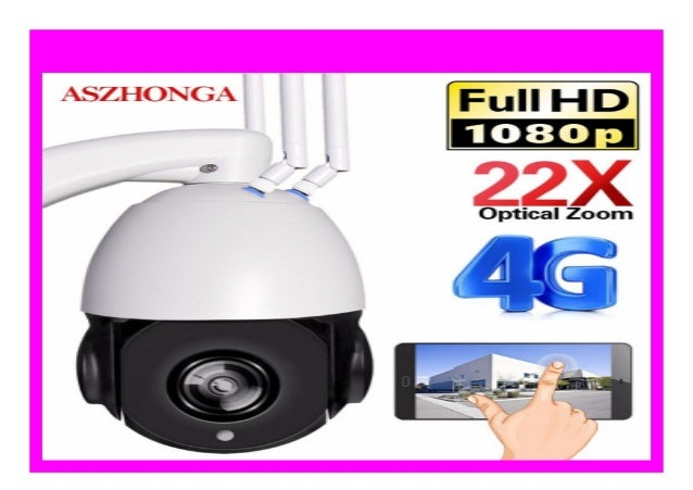 New 1080p Ip Camera 4g Wifi Camera Speed Dome Support Sim Card Outdo