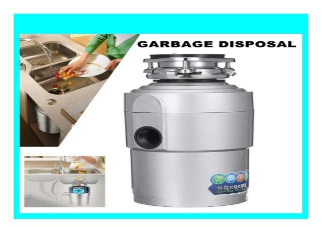 Best Seller 2l Garbage Disposal Continuous Feed Food Waste Disposer