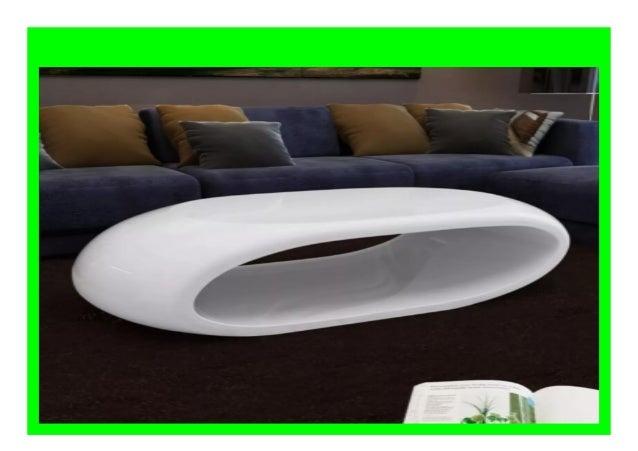 Big Discount Vidaxl Solid High Gloss Coffee Table Fashion Shiny Whit