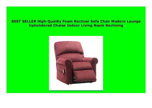 SELL High-Quality Foam Recliner Sofa Chair Modern Lounge ... on Dollar General Chaise Lounge id=91130
