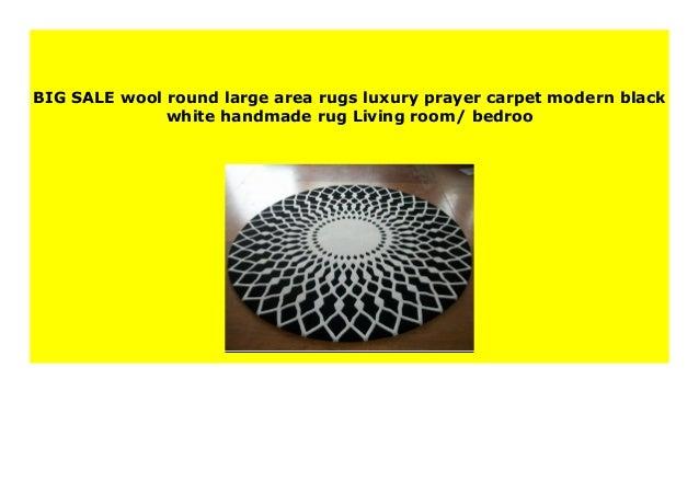 Big Sale Wool Round Large Area Rugs Luxury Prayer Carpet