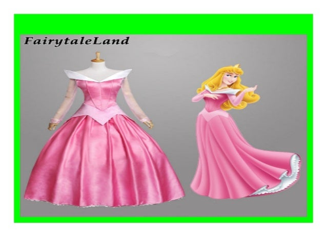 Sleeping Beauty Princess Aurora Dress Costumes Cosplay Adult Fancy Dress