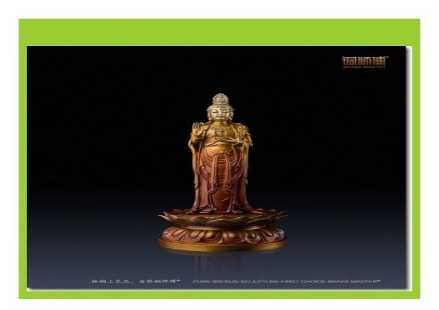 Tibetan Buddhism Bronze Four Arms Kwan-yin Statue - Nov 10