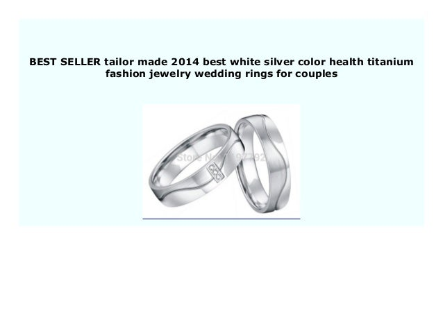 Best Price Tailor Made 2014 Best White Silver Color Health Titanium