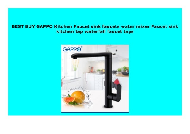 Best seller GAPPO Kitchen Faucet sink faucets water mixer ...