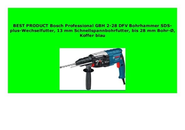 Bosch Schnellspannbohrfutter SDS-plus SDS