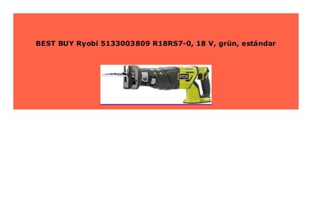 gr/ün est/ándar Ryobi 5133003809 R18RS7-0 18 V