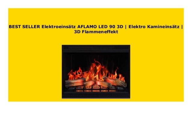 Elektroeins/ätz AFLAMO LED 60 Elektro Kamineins/ätz
