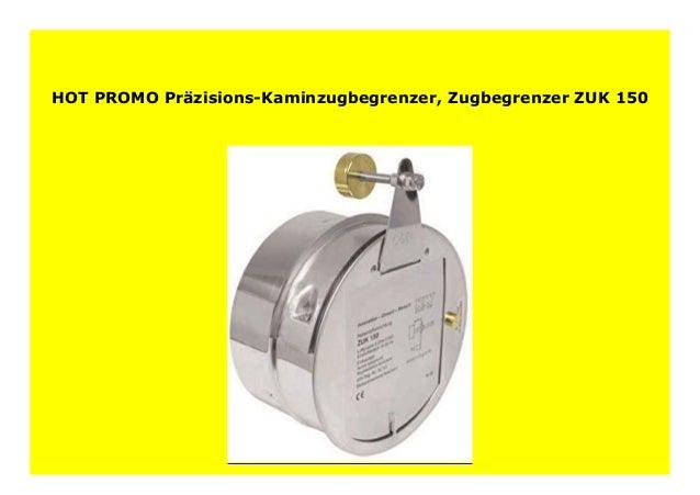 Pr/äzisions-Kaminzugbegrenzer Zugbegrenzer ZUK 150