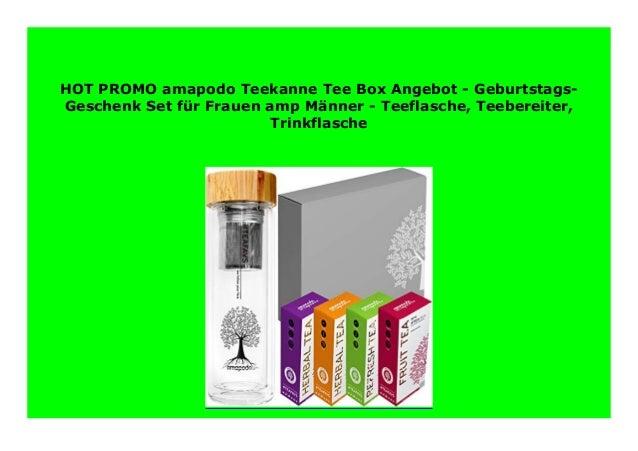 Sell Amapodo Teekanne Tee Box Angebot Geburtstags Geschenk
