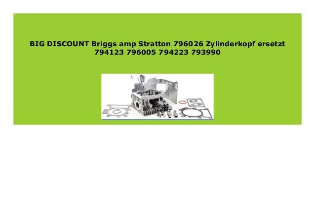 Briggs /& Stratton 796026/Zylinderkopf ersetzt 794123/796005/794223/793990