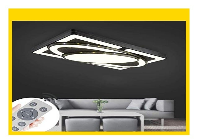 Design LED Deckenstrahler Deckenleuchte Lampe Deckenlampe DIMMBAR Fernbedienung