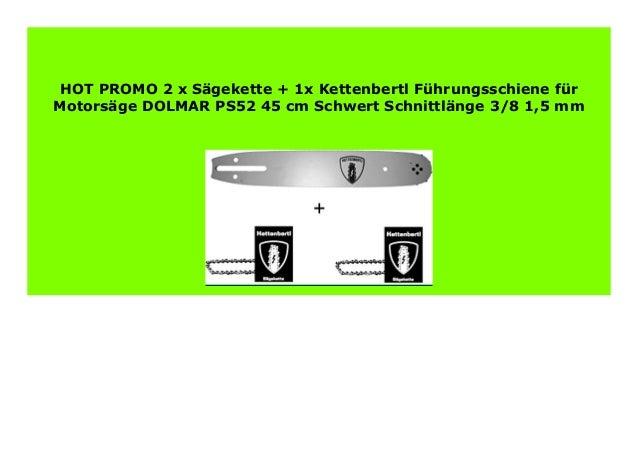 """325/"""" Schwert Führungsschiene für Dolmar 38 cm 1,5 mm"""