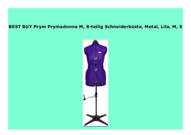 Metal Lila S 8-teilig Schneiderb/üste Prym Prymadonna S