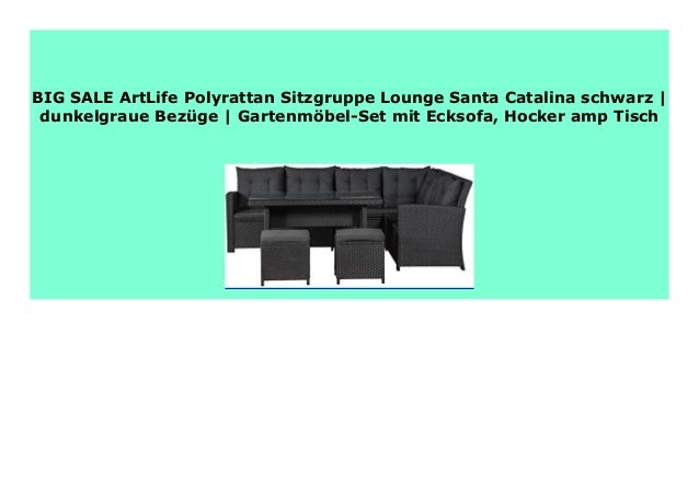 Best Buy Artlife Polyrattan Sitzgruppe Lounge Santa Catalina