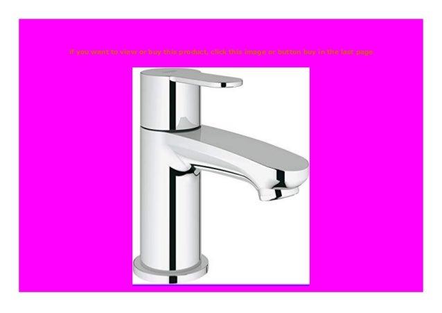Badarmatur L-Size 23043002 Waschtischarmatur GROHE Eurostyle Cosmopolitan mit ZUGSTANGE