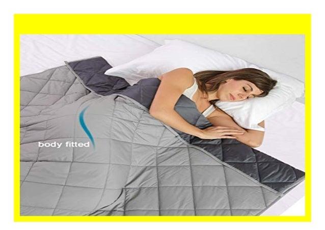Gewichtsdecke Weighted Anti-Stress Schwere-Decke Therapiedecke Weighted Blanket
