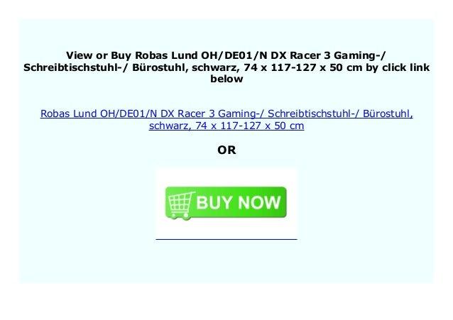 Best Price Robas Lund Ohde01n Dx Racer 3 Gaming