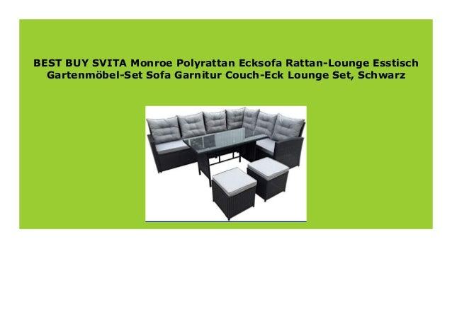 Best Buy Svita Monroe Polyrattan Ecksofa Rattan Lounge