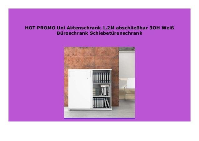 Best Price Uni Aktenschrank 12m Abschlie Bar 3oh Wei B