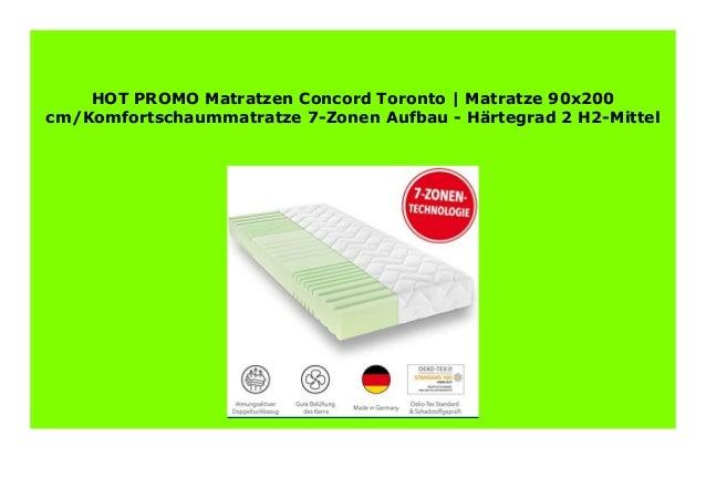 Discount Matratzen Concord Toronto Matratze 90x200 Cm