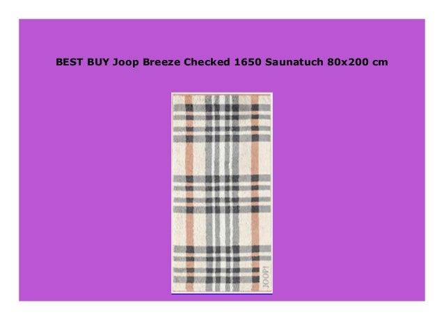 Breeze Checked 1650 Handtuch 50x100 cm Joop