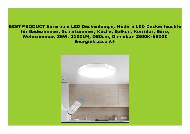Best Product Sararoom Led Deckenlampe Modern Led Deckenleuchte F
