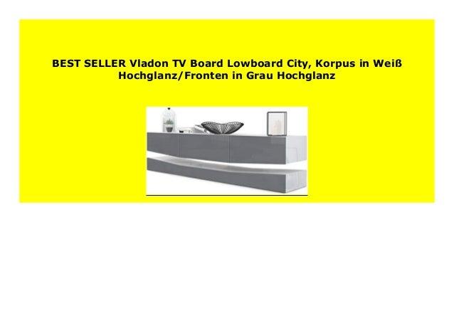 Best Price Vladon Tv Board Lowboard City Korpus In Wei