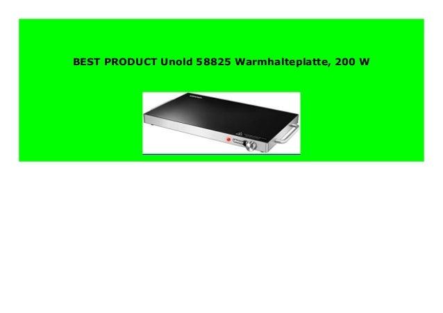 Unold 58825 Warmhalteplatte 200 W