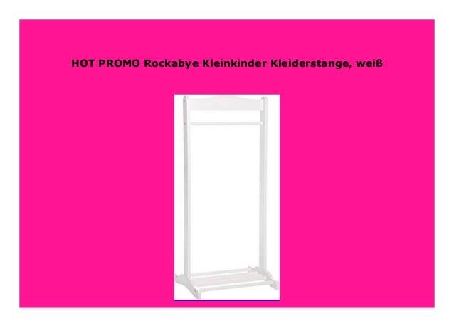 wei/ß Rockabye Kleinkinder Kleiderstange