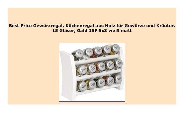 Best seller Gew rzregal, K chenregal aus Holz f r Gew rze ...