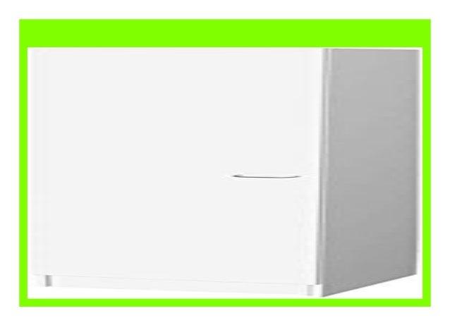 Flex-Well Hochschrank UNNA Wei/ß Breite 50 cm 4 F/ächer Geschirrschrank 1-t/ürig