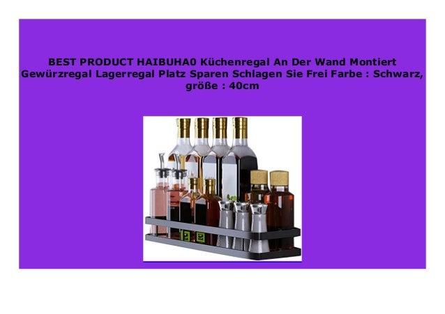 HOT SALE HAIBUHA0 K chenregal An Der Wand Montiert Gew ...