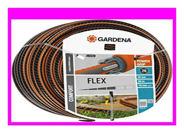 """19 mm 50 m ohne Systemteile Gardena Comfort FLEX Schlauch 3//4/"""""""