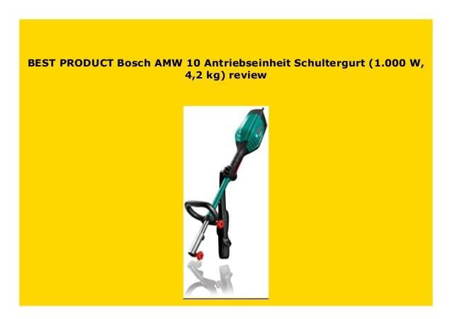 Bosch AMW 10 Antriebseinheit 1.000 W, 4,2 kg Schultergurt