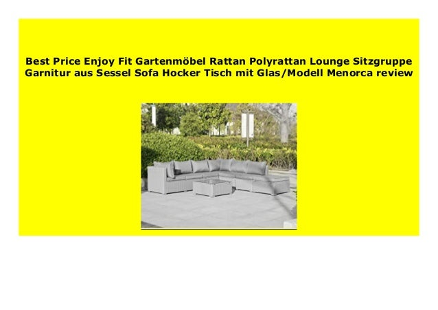 Big Sale Enjoy Fit Gartenm Bel Rattan Polyrattan Lounge