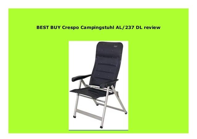Crespo Campingstuhl AL//237 anthrazit