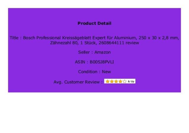 210 x 30 x 2,4 mm, 54 Z/ähne, Zubeh/ör Kreiss/äge Bosch Professional Kreiss/ägeblatt Expert for Multi Material