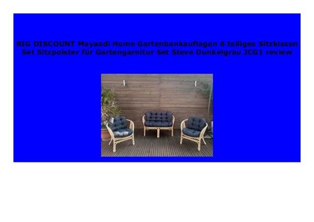 Hot Sale Mayaadi Home Gartenbankauflagen 6 Teiliges