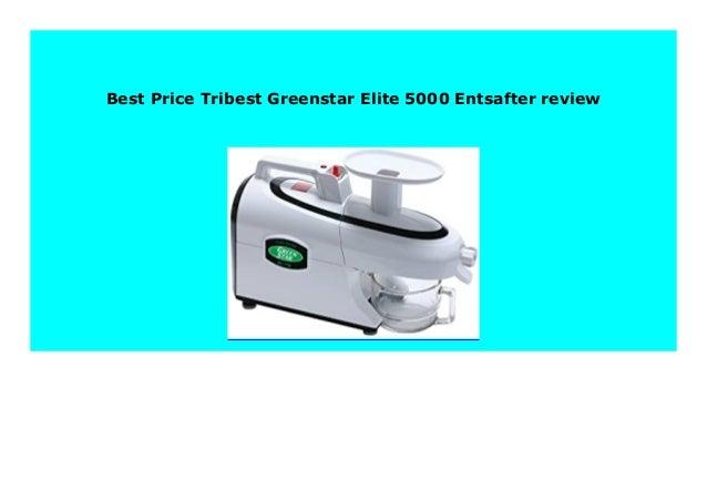 Tribest Greenstar Elite 5000 Entsafter