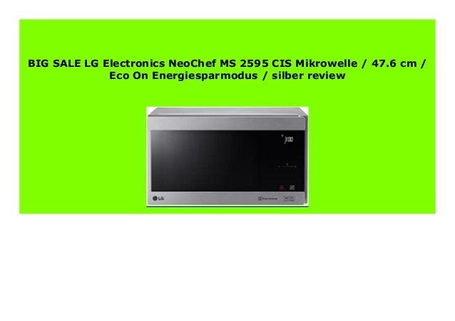 LG Mikrowelle MS 2595 CIS