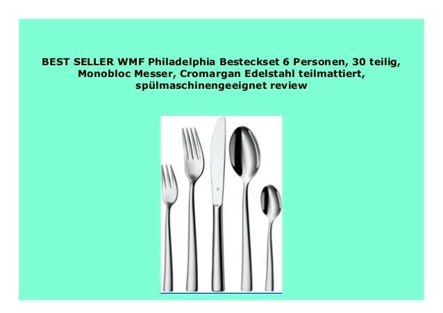 WMF Besteck-Set 30-teilig für 6 Personen Philadelphia Cromargan Edelstahl