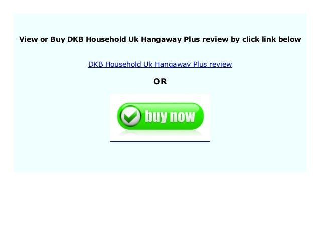 DKB Household Uk Hangaway Plus