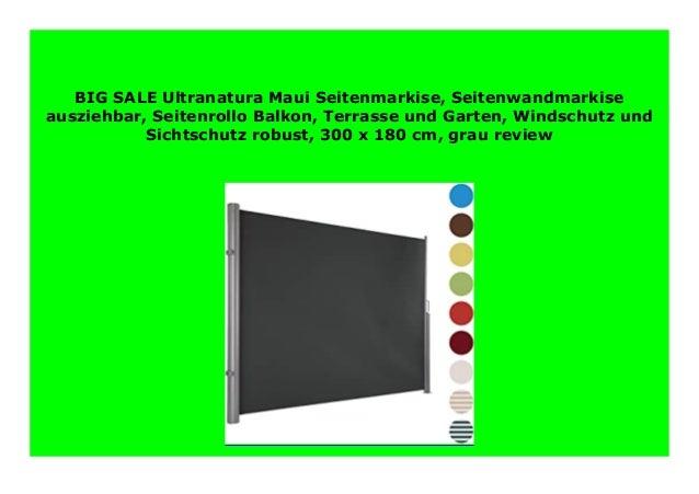 Big Discount Ultranatura Maui Seitenmarkise Seitenwandmarkise Auszie