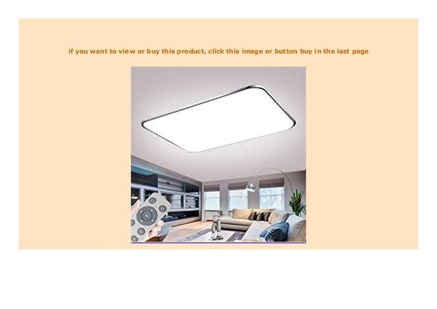 HOT SALE Deckenlampe LED Deckenleuchte Dimmbar 72W mit ...
