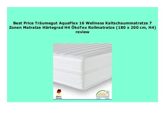 Hot Sale Tr Umegut Aquaflex 16 Wellness Kaltschaummatratze